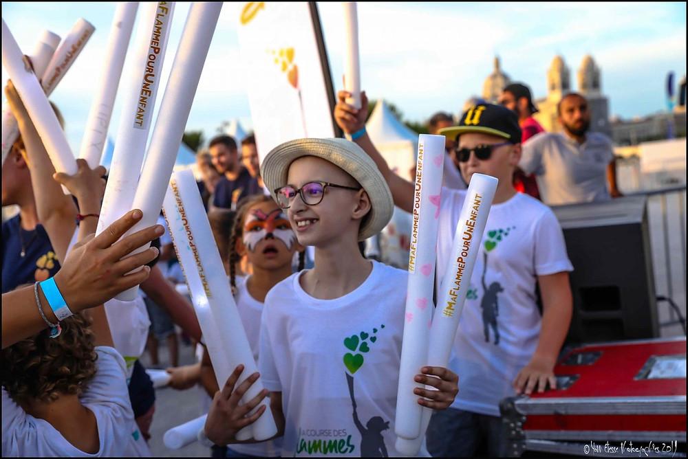 Eolia partcipe à la course des flammes édition 2021 pour soutenir les enfants malades du cancer