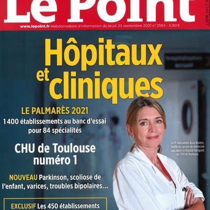 Palmarès des hôpitaux et cliniques 2021