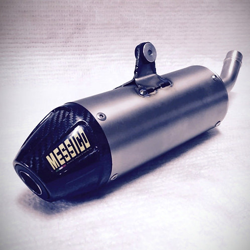 Silenziatore Messico Husqvarna CR / TC 125 (titanio / carbonio)