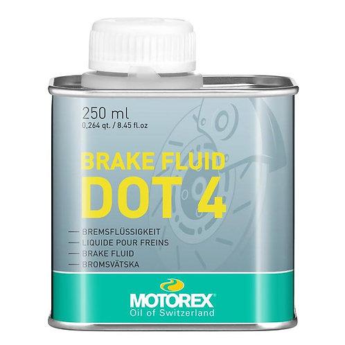 Olio freni MOTOREX BRAKE FLUID DOT 4 250ml