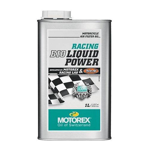 Olio filtro aria liquido MOTOREX RACING BIO LIQUID POWER 1lt