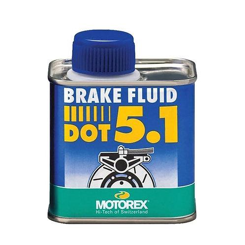 Olio freni MOTOREX BRAKE FLUID DOT 5.1 250ml