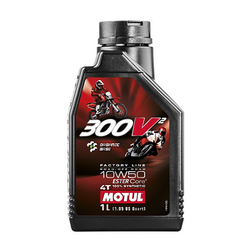 Olio motore MOTUL 300V2 10W-50  1lt
