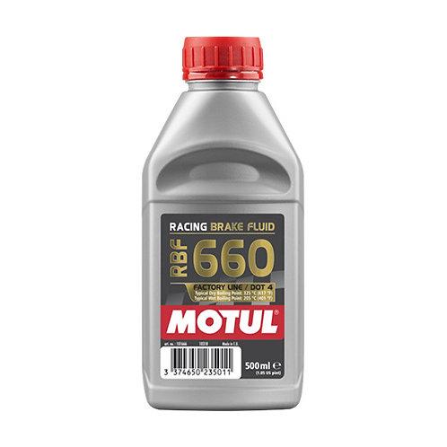 Olio freni racing MOTUL RBF 660 DOT 4  500ml