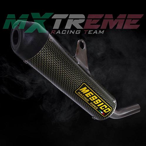 Silenziatore Messico KTM 125 e 144/150 SX (carbonio / kevlar)