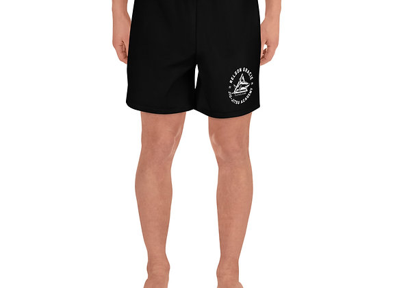 Relson Gracie Cleveland Logo Men's Athletic Long Shorts