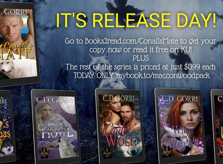 RELEASE DAY IS HERE!