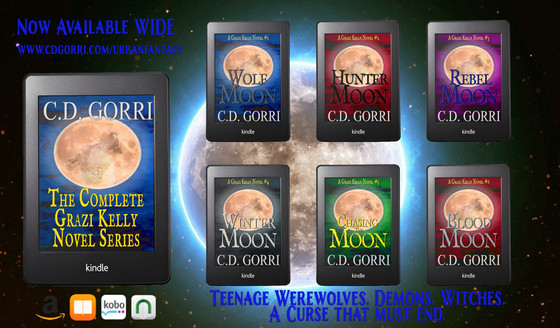 The Grazi Kelly Novel Series is now WIDE