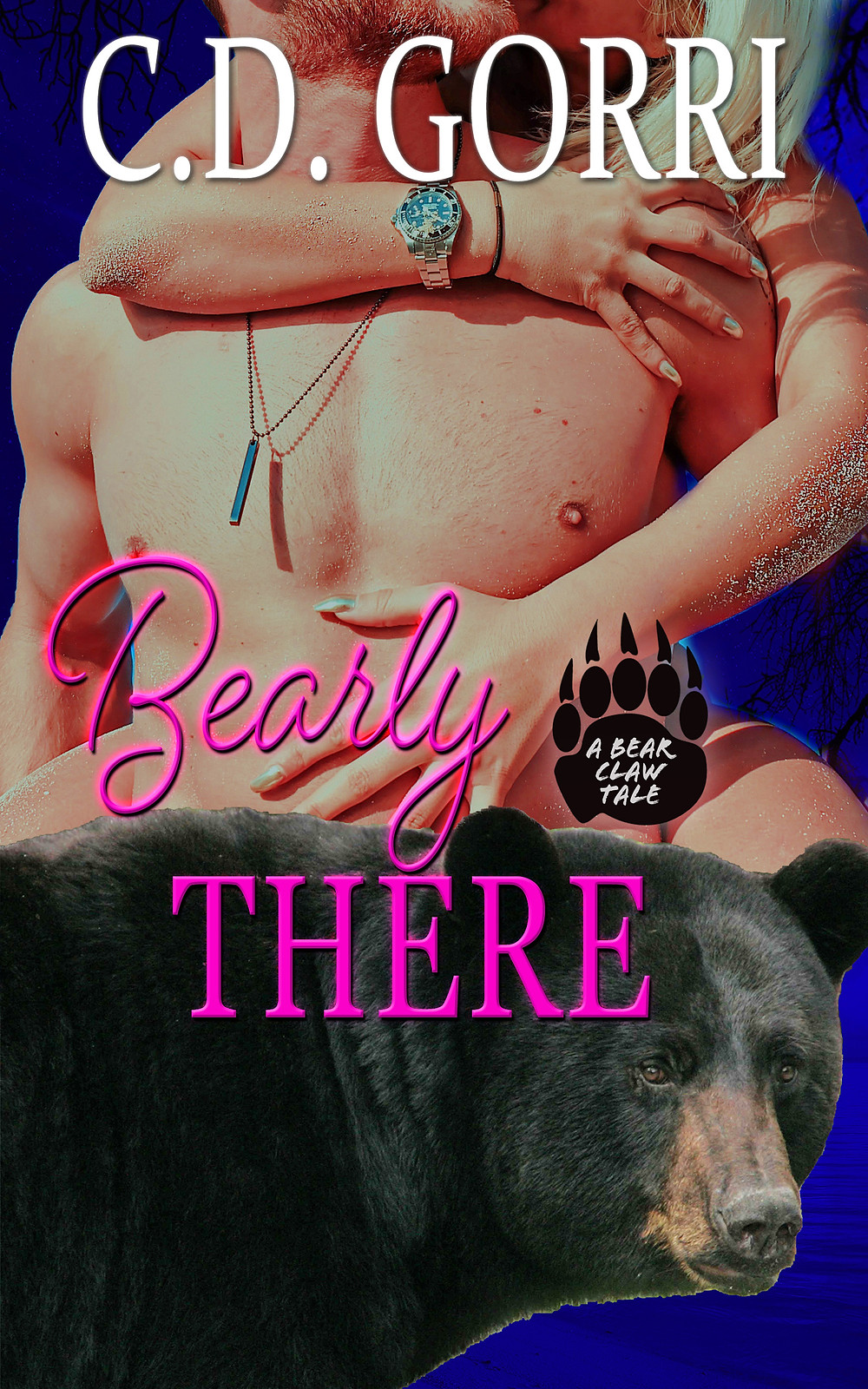 """✨¨✫)  ✨¸.•´¸. ✨•*´¨)✯ ¸. ✨•*¨)   #RELEASEDAY #NEWRELEASE #CDGORRIBOOKS #PNR #SHIFTERROMANCE #SERIES #BEARSHIFTERS #BEARCLAWTALES #KU  Bearly There: A Bear Claw Tale 2 by C.D. Gorri ♥*♡+:。.。♥*♡+:。.。♥*♡+:。.。  """"She knows he's the one, but he is fighting it tooth and nail, or in this case, claw!""""  Krissy Sposa has been dreaming of her mating to gorgeous Bear Shifter, Taylor Devlin, since she was a teenager! But the sexy blonde Shifter is determined to remain a play bear despite her belief that they are fated mates.   Taylor has known the curly haired she-Bear ever since she started working for his family at the original Bear Claw Bakery location. Sure, he knows about her school-girl crush, but there's no way he is going to give in to temptation. No matter how sweet she looks with flour on her shirt and cream filling on her lips, Krissy Sposa is off-limits.   When a lone Bear comes sniffing around Krissy, Taylor has a decision to make. Claim her as his own or watch her get swept away by a handsome stranger!  ✨¸.•´¸. ✨•*´¨)✯ ¸. Links: Amazon US: https://www.amazon.com/gp/product/B07MSJ9FDD Global: https://www.books2read.com/bearlythere ✨¸.•´¸. ✨•*´¨)✯ ¸. ✨•*¨)  ✨¨✫)"""