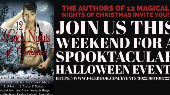 Join the authors of 12 Magical Nights of Christmas!