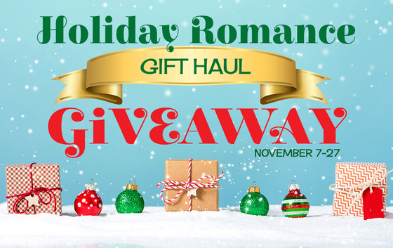 HOLIDAY ROMANCE GIFT HAUL GIVEAWAY
