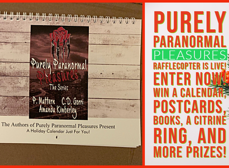 Purely Paranormal Pleasures PRIZES