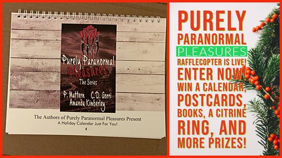 Purely Paranormal Pleasures PRIZES