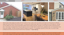 David Pucill Construction, local builder wanted to have a web presence...