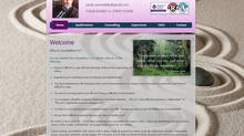 Website for Counselling & Supervision business