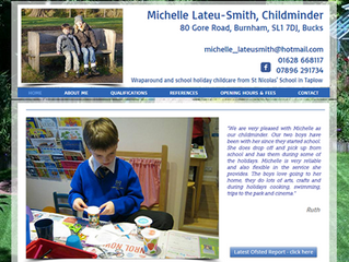 Website required for childminder to expand her business....