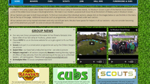 Local Scout Group need new Webmaster
