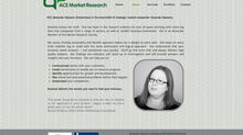 ACE Market Research needed a website to compliment their business strategy
