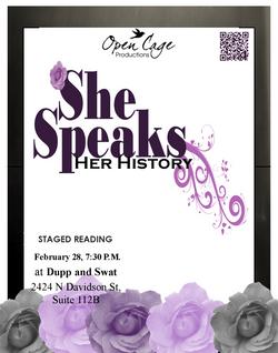 She Speaks: Her History