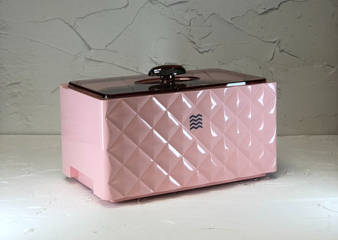 onelivings ultrasonic cleaner d3000 pink