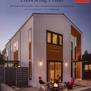 """Bend Magazine """"Embracing Urban"""" Feature Article"""
