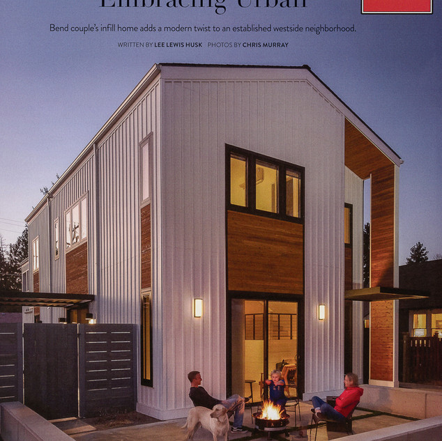 "Bend Magazine ""Embracing Urban"" Feature Article"