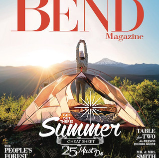 "Bend Magazine ""Vacation Ready"""