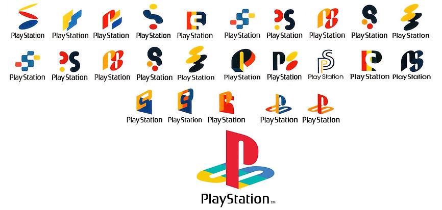Play Station logo evolution