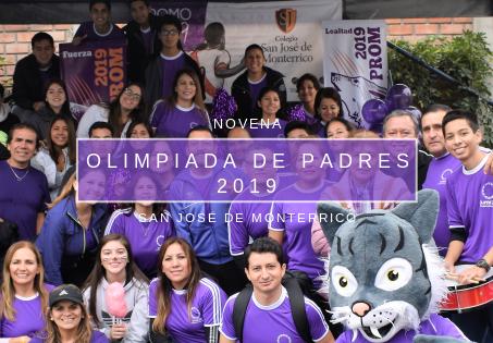 Novena Olimpiadas de Padres de Familia 2019