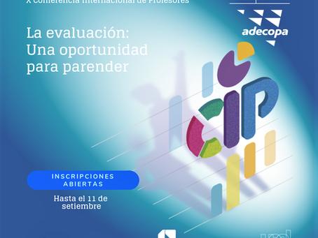 X Conferencia Internacional de Profesores CIP -2019