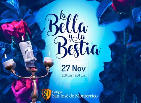 """TEATRO ELENCO DE PRIMARIA Y SECUNDARIA """"LA BELLA Y LA BESTIA"""
