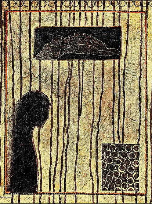 The Dreamer - 40 x 50 x 3 cm