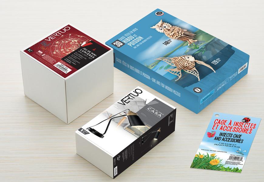 Emballage de produits