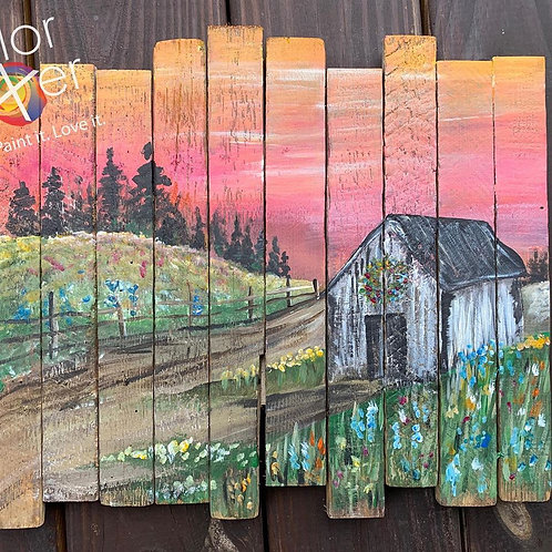 Mothers Day Paint Class May 1st 1-3pm Little Creek Park SG