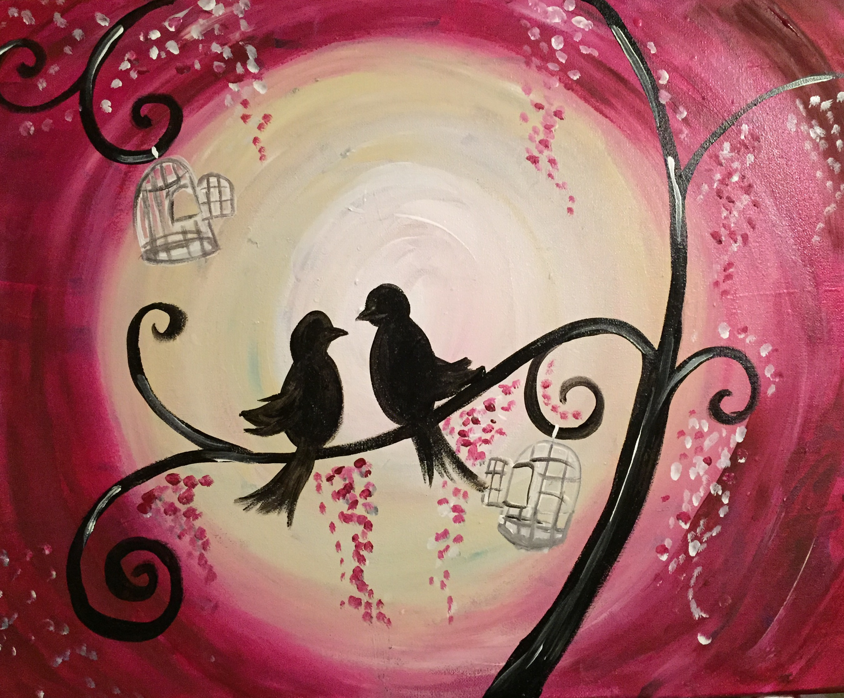 Love Birds & Cages