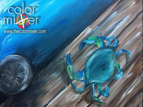 Dull private paint class June 19th 6pm Color Mixer Studio