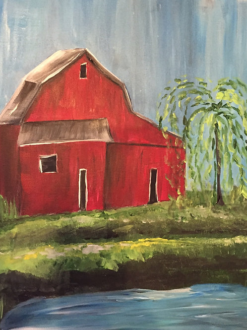 Countryside Red Barn- February 19th at 1pm
