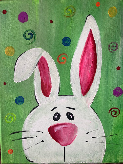 Peter the Rabbit March 26th 6pm LIVE PAINT CLASS- PTO fundraiser