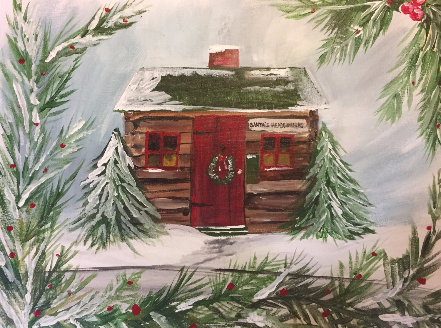 Santa's Cabin on the Square