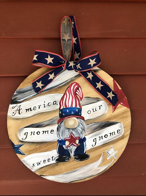 America, Our gnome sweet gnome June 10th 6pm color mixer studio