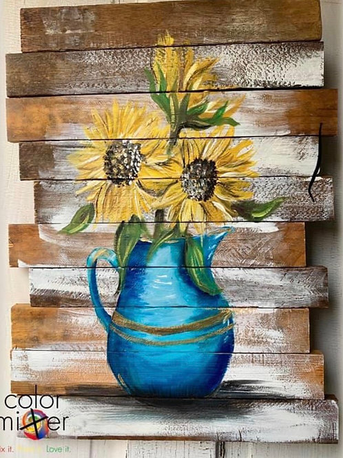 Tina Becker's private paint party Oct 9th 6:30 Color mixer studio