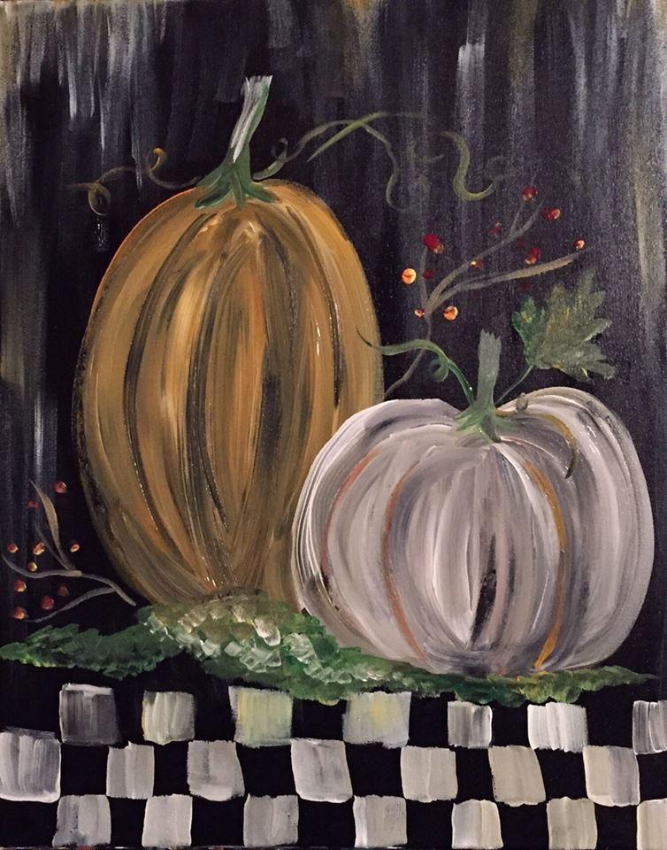 A Primitive Pumpkin Patch