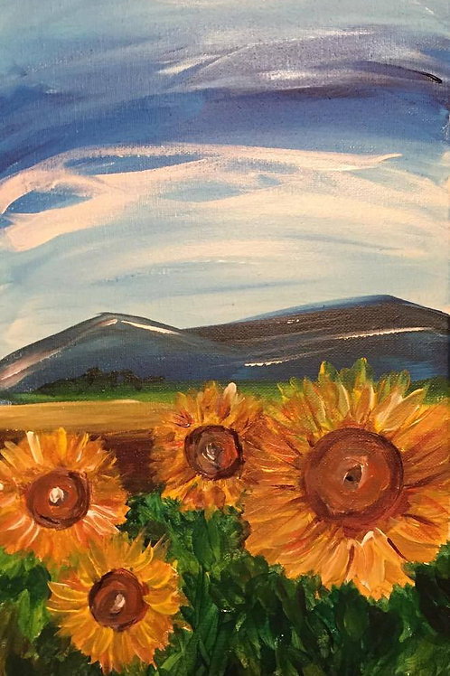 Cindy Poinsettia Feb 24, 2016 - Sunflowers