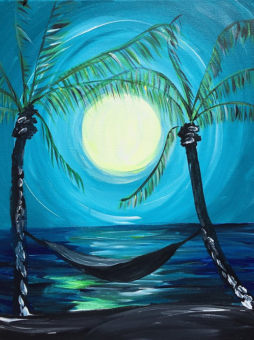 Moonlit Palm Trees May 7th @ 3pm