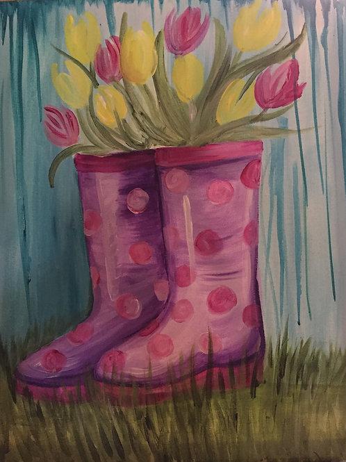 Rainboots & Tulips-Feb 17th at 6pm