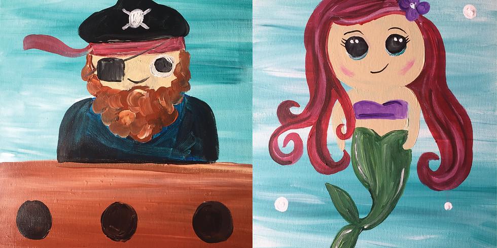 Mermaid & Pirate Childs Class