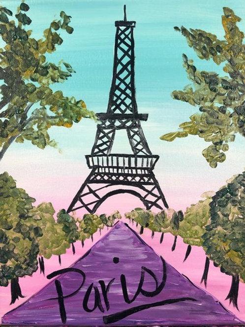 Paris Birthday Party Saturday March 13 1pm Color Mixer Studio