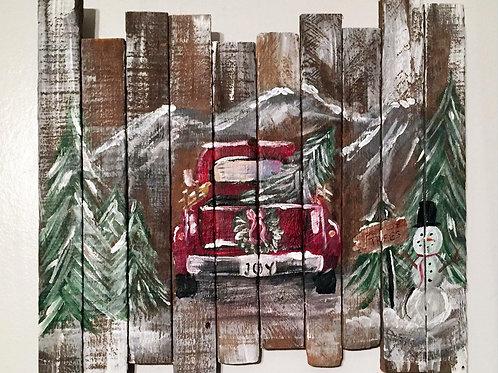 Christmas Tree Farm Board Nov 30th | 6:30pm   Bourbon Bar & Grill