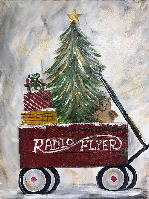 Mona's Private Paint Class Radio Flyer Nov 9th 6pm