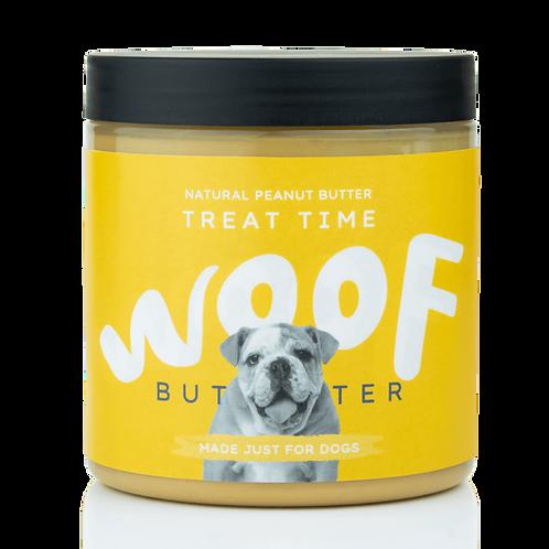WOOF BUTTER Treat Time - Burro di arachidi per cani